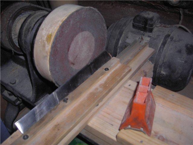 Изготовление станка для заточки ножей своими руками