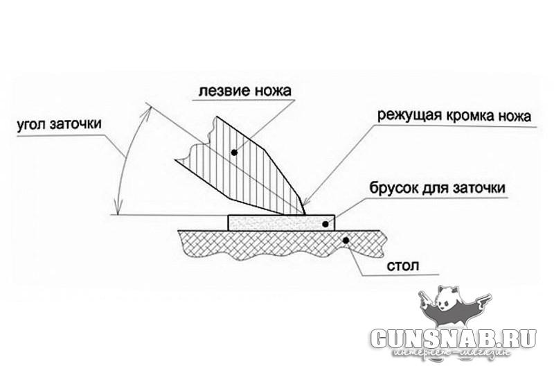 Угол заточки кухонного ножа: как правильно и под каким углом точить в домашних условиях