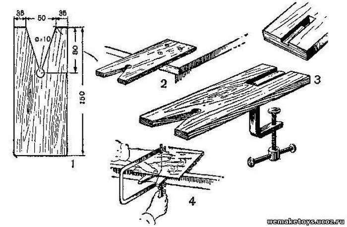 Самостоятельное изготовление верстака столярного из дерева