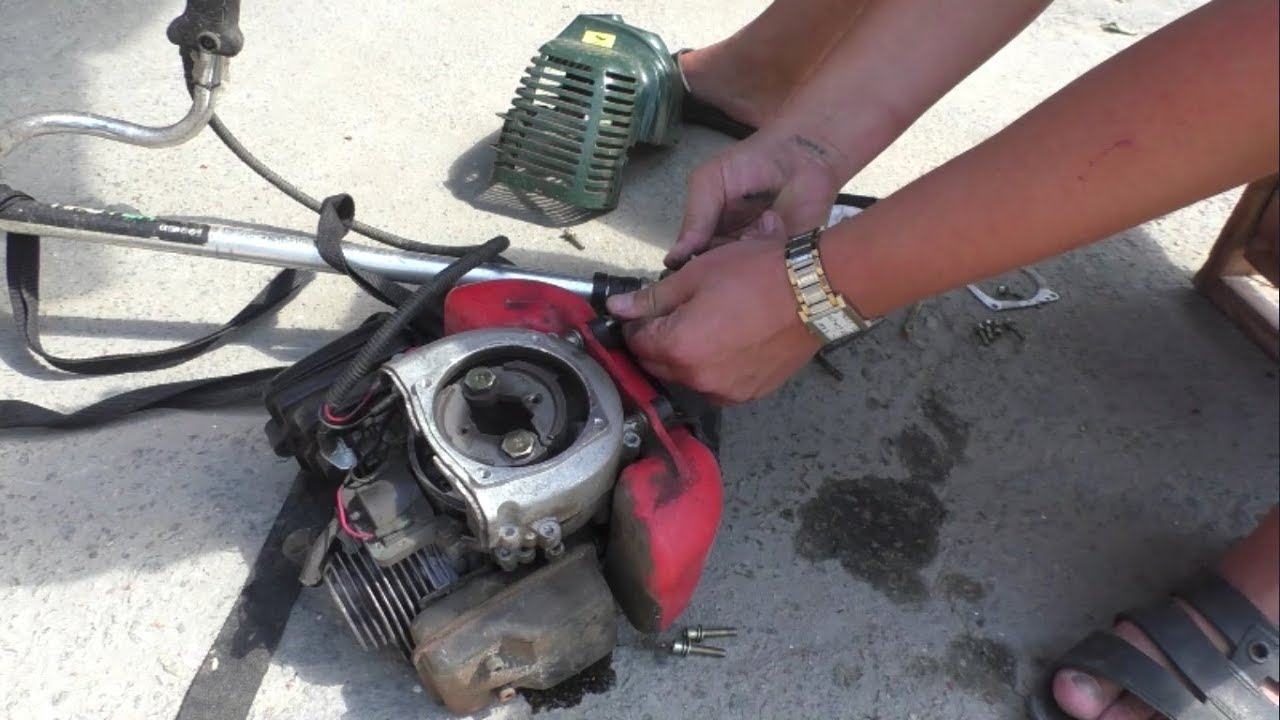 Особенности самостоятельного ремонта бензиновых и электрических триммеров для травы