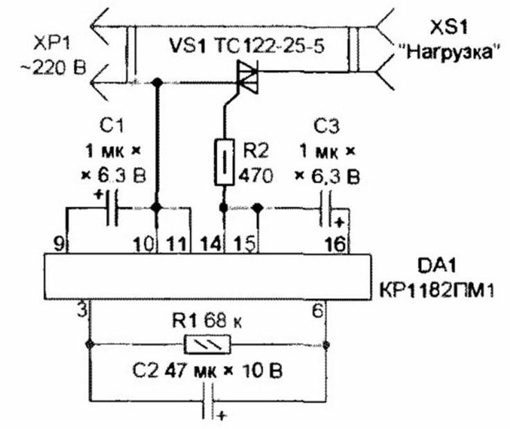 Пример применения системы плавного пуска электродвигателя – самэлектрик.ру