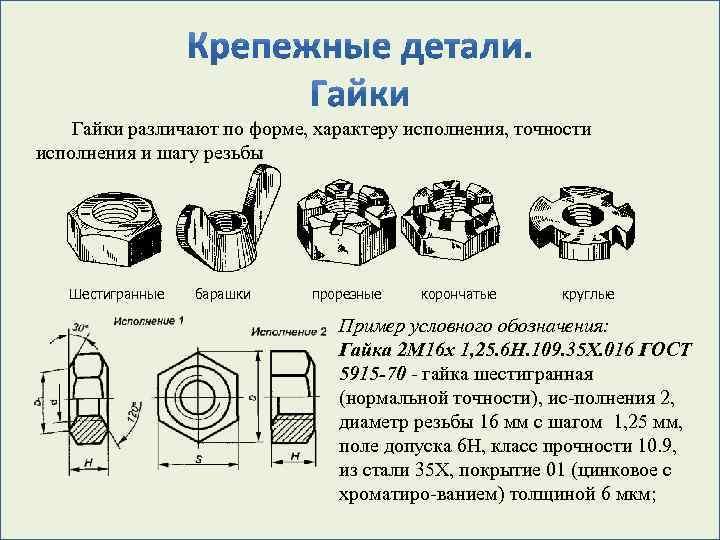 Класс прочности болтов для фланцевых соединений