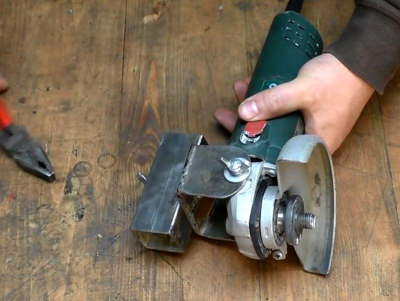 Как изготовить станину для болгарки своими руками с чертежами и видео