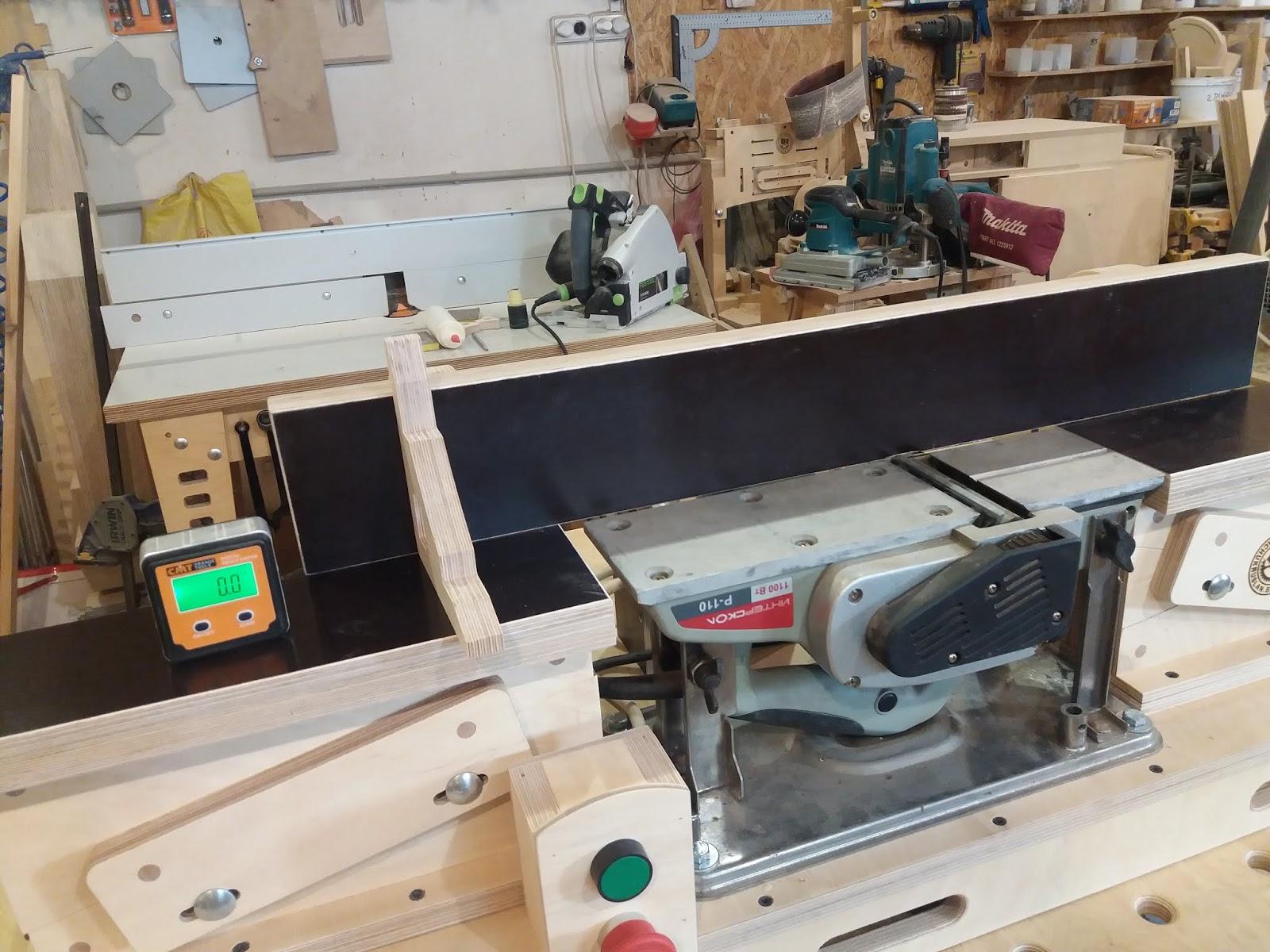 Фуганок своими руками: как сделать из электрорубанка и из фрезера? чертежи самодельного настольного электрического фуганка