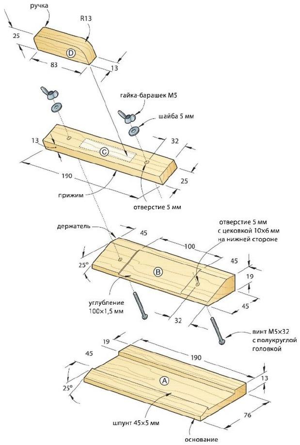 Делаем электрорубанок своими руками: материалы и инструменты, чертежи, видео-инструкции