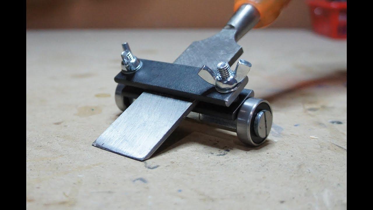 Пошаговая заточка ножей для рубанка своими руками