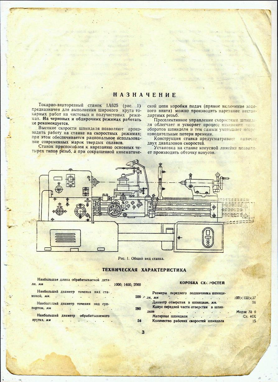 Токарный станок 1а616