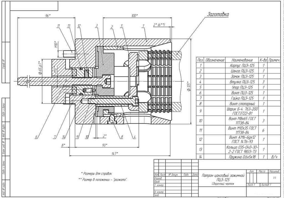 Цанговый патрон: устройство, конструкция, принцип работы и действия зажима