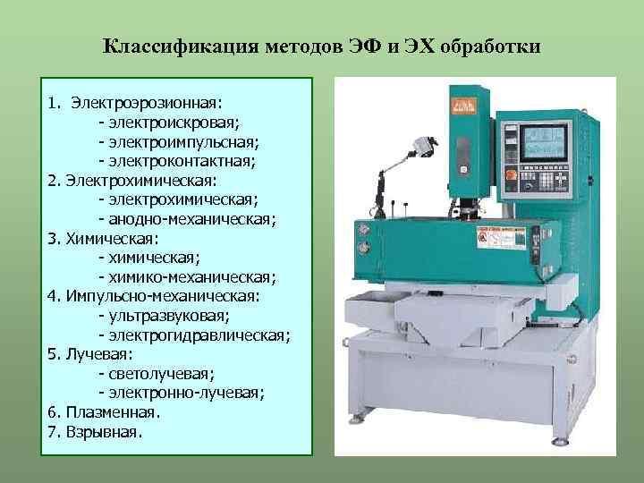 Методы электрохимической обработки металлов