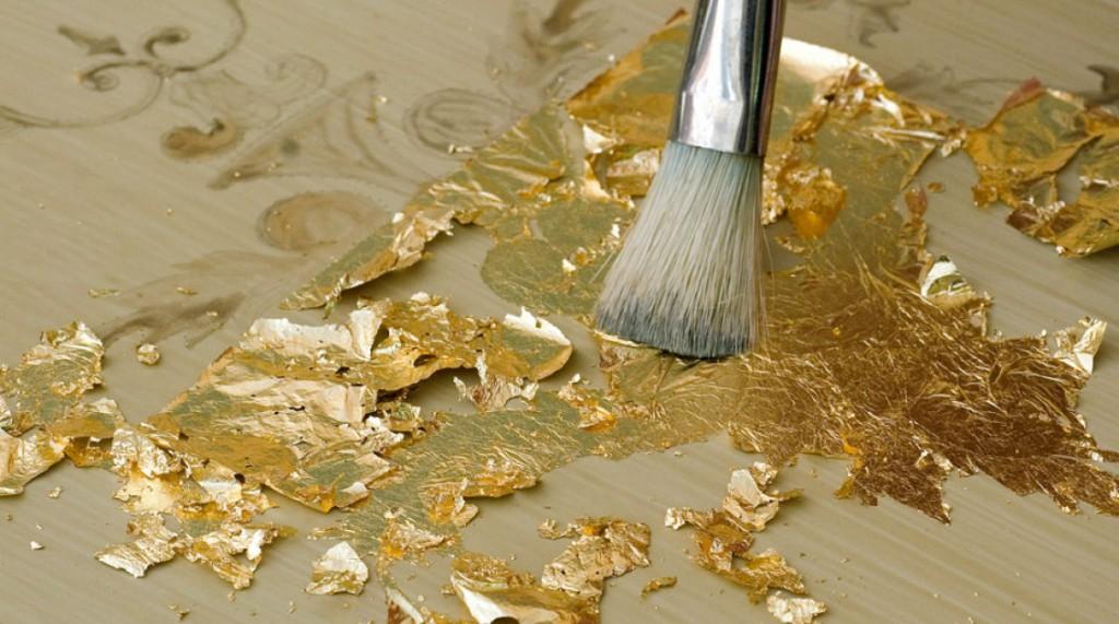 Как позолотить металл в домашних условиях?