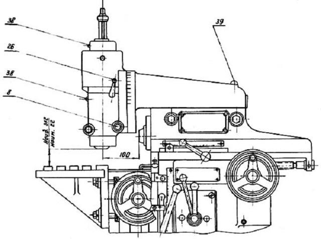 Фрезерный станок фсш-1а: технические характеристики, паспорт