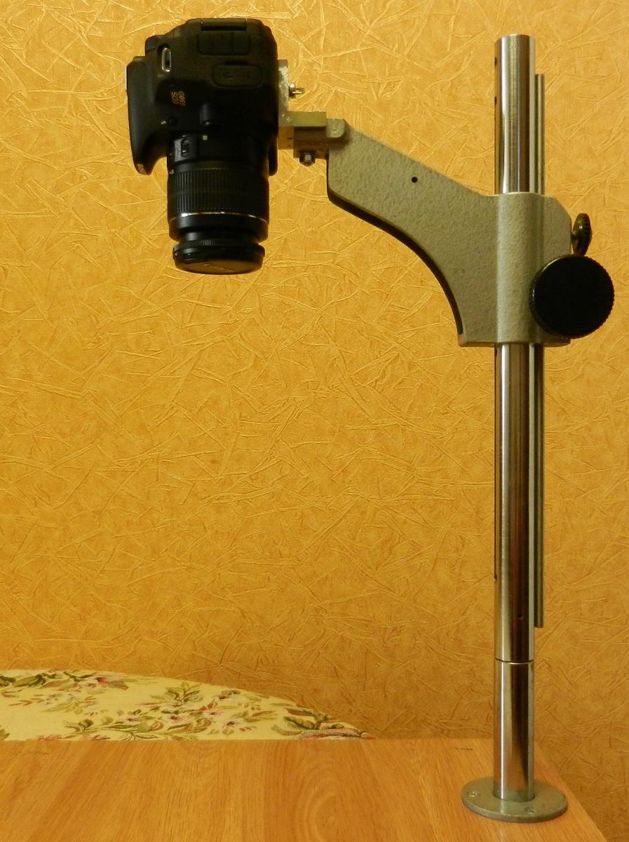 Стойка для дрели из фотоувеличителя