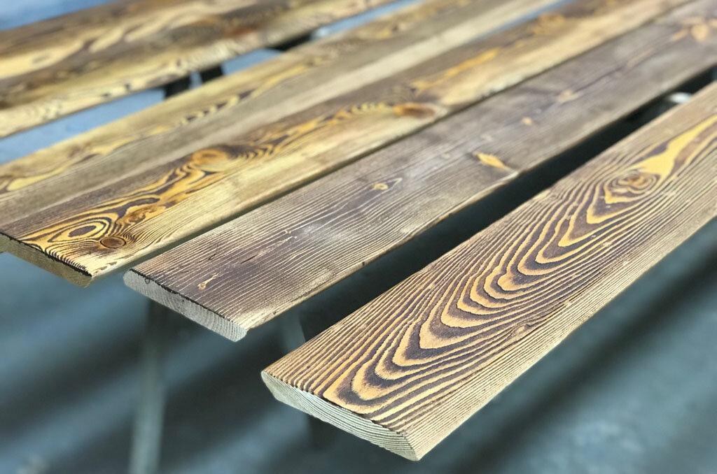 Браширование древесины: 3 последовательных этапа обработки