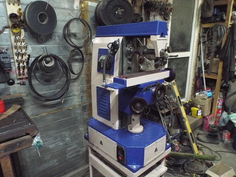 Описание основных технических характеристик фрезерного станка нгф-110