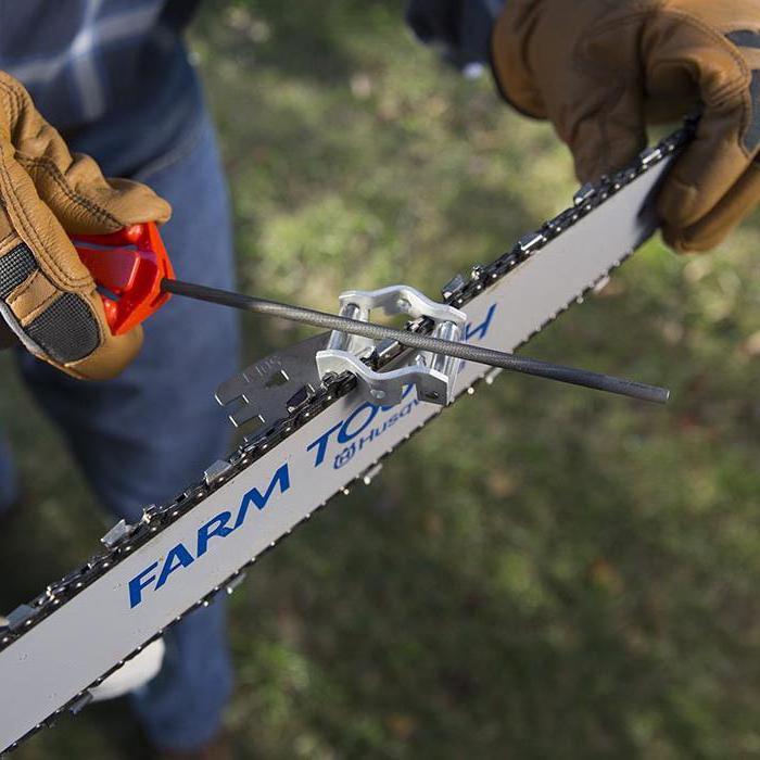 Как заточить цепь бензопилы: способы, инструменты и приспособления