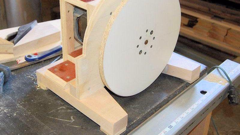 Самостоятельное изготовление шлифовального станка по дереву