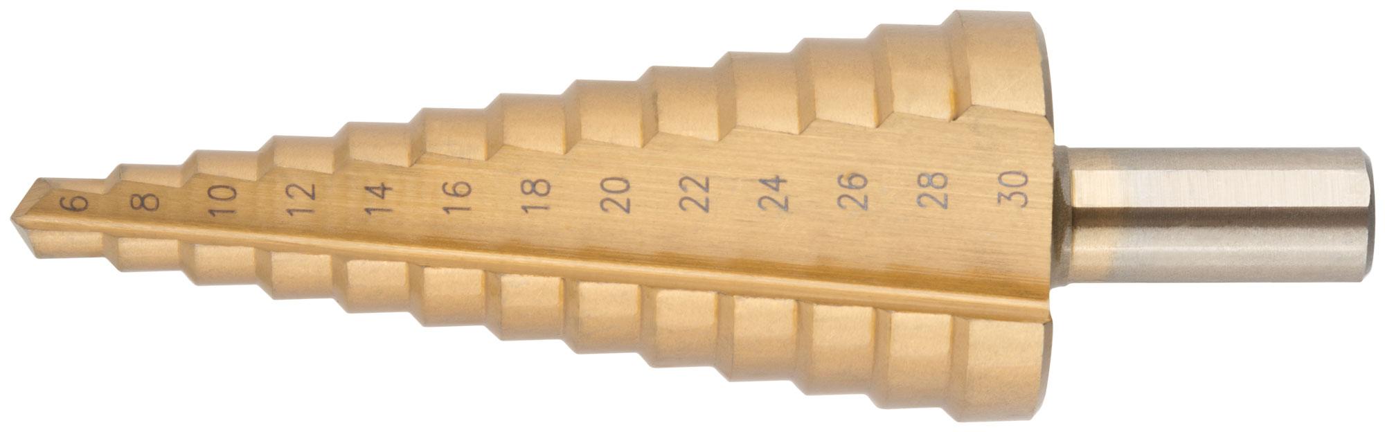 Особенности конусных и ступенчатых сверл для работы по металлу: особенности, правила выбора, заточка
