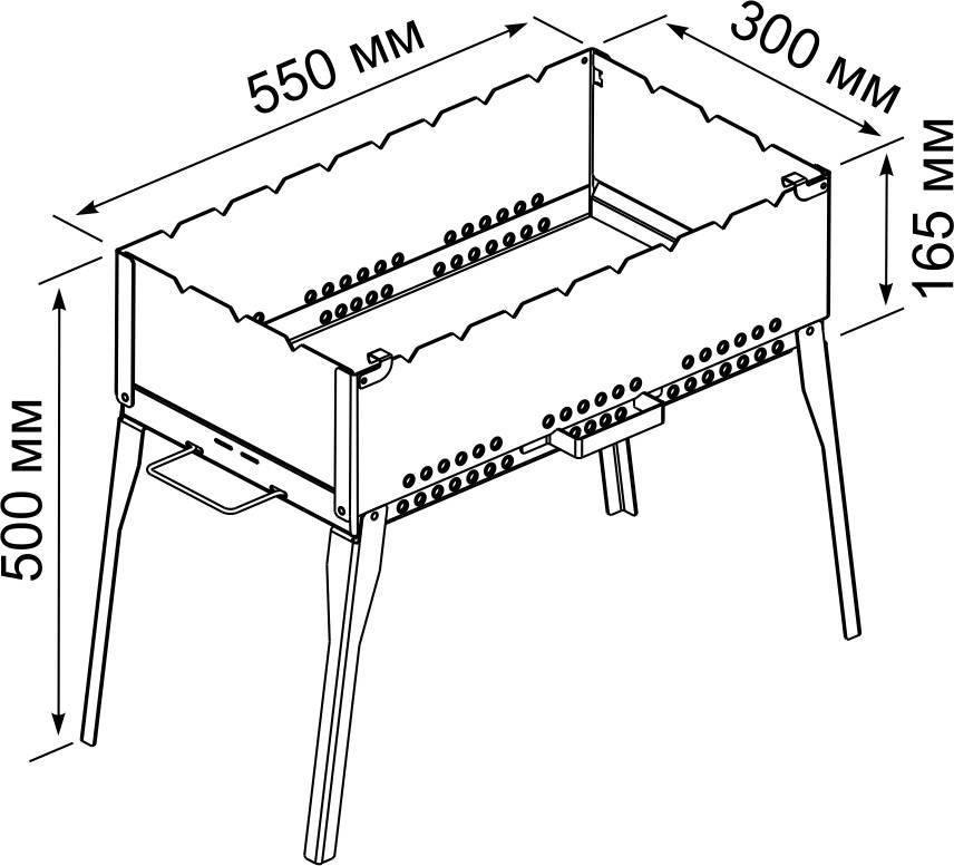 Барбекю: пошаговая инструкция изготовления