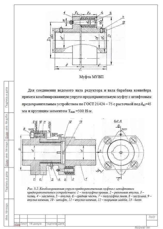 Гост 21424-75 муфты упругие втулочно-пальцевые. основные параметры. габаритные и присоединительные размеры
