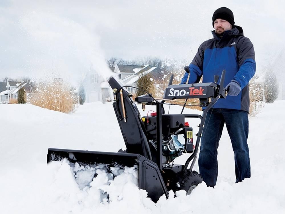 Мотоблок зимой — подготовка и зимнее использование
