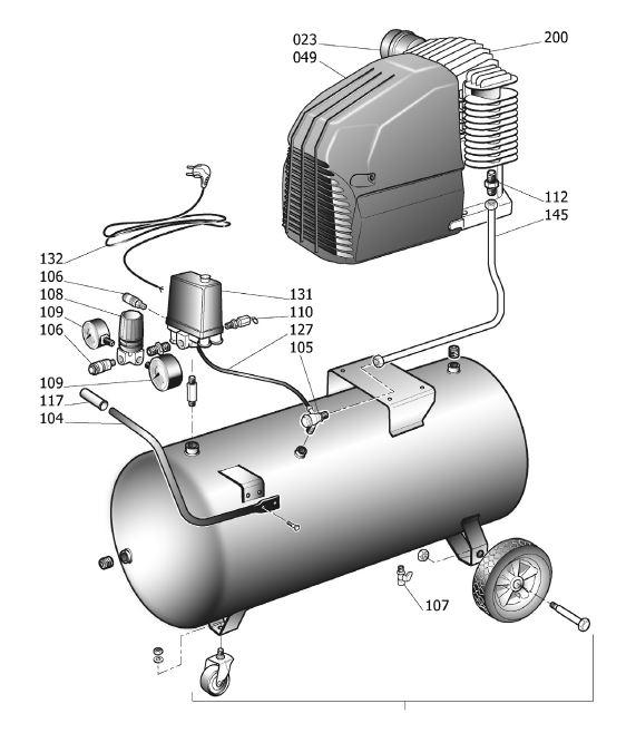 Как подключить к компрессору дополнительный ресивер. ресивер компрессора. точный расчёт и подбор. устройства с датчиками давления