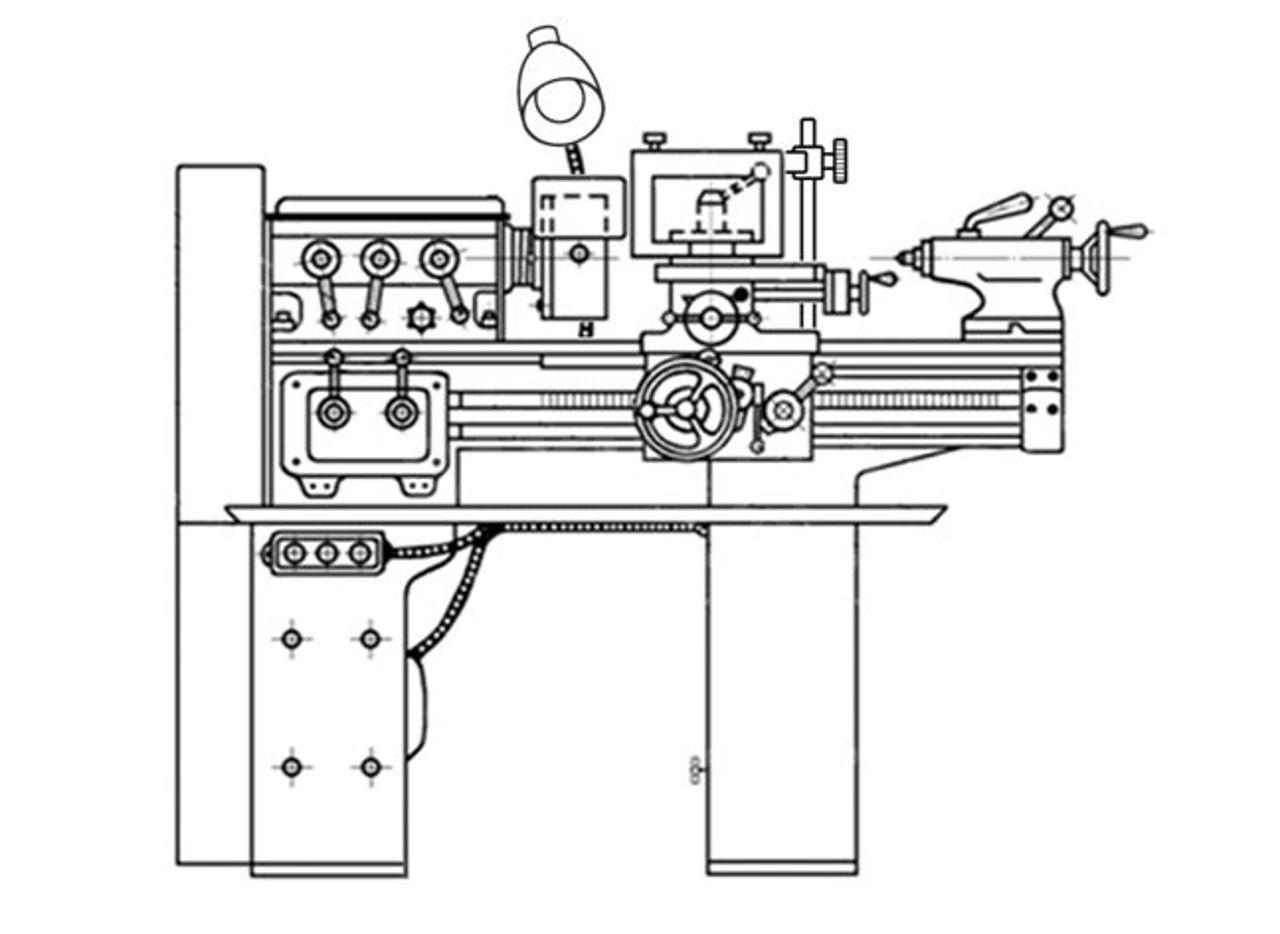 Характеристики и описание токарного станка тв-4
