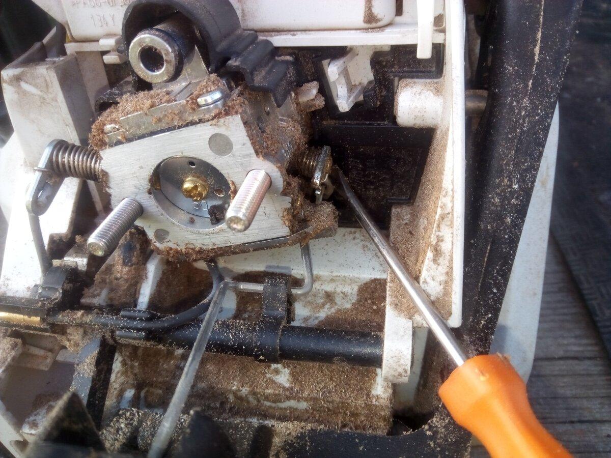 Пила штиль 180 работает на больших оборотах. бензопила не набирает обороты: обзор причин и ремонт своими руками