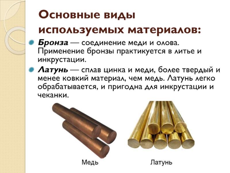 Медь – свойства меди, сплавы и применение