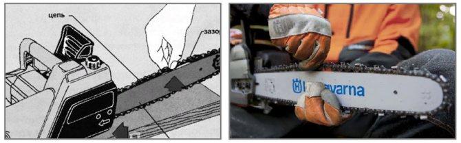 Выбрать шину и цепь для бензопилы по марке пилы — таблица размеров