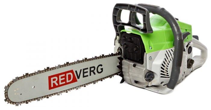 Бензопилы redverg — технические характеристики моделей редверг