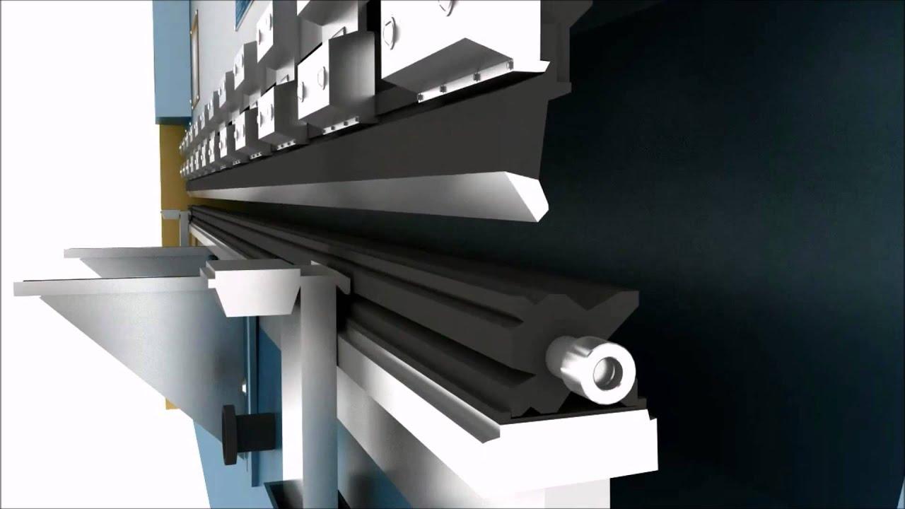 Листогибочный пресс с чпу: конструкция, принцип работы, технические параметры