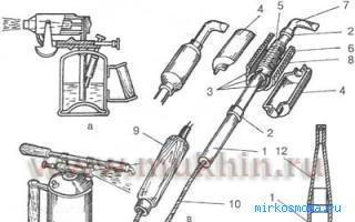 Устройство паяльника в разрезе — схема, принцип работы