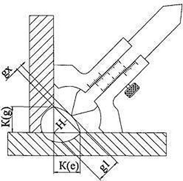 Что такое катет шва при сварке и какие критерии его контроля?