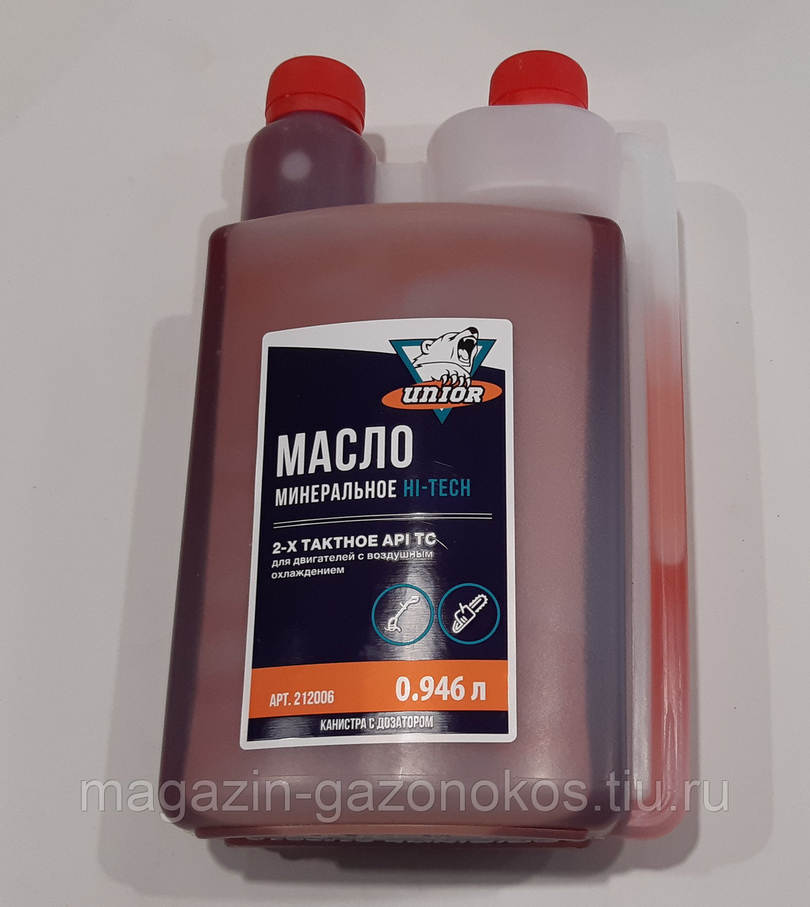 Двухтактное масло для двигателя бензопилы