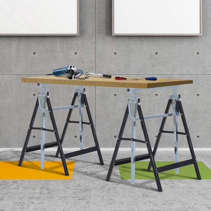 Универсальный складной верстак-стол для столярных работ