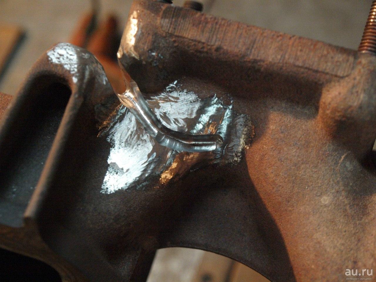 Как приварить чугун к стали