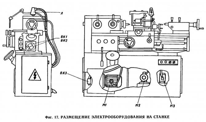 1п611 станок токарно-винторезный повышенной точности универсальный схемы, описание, характеристики