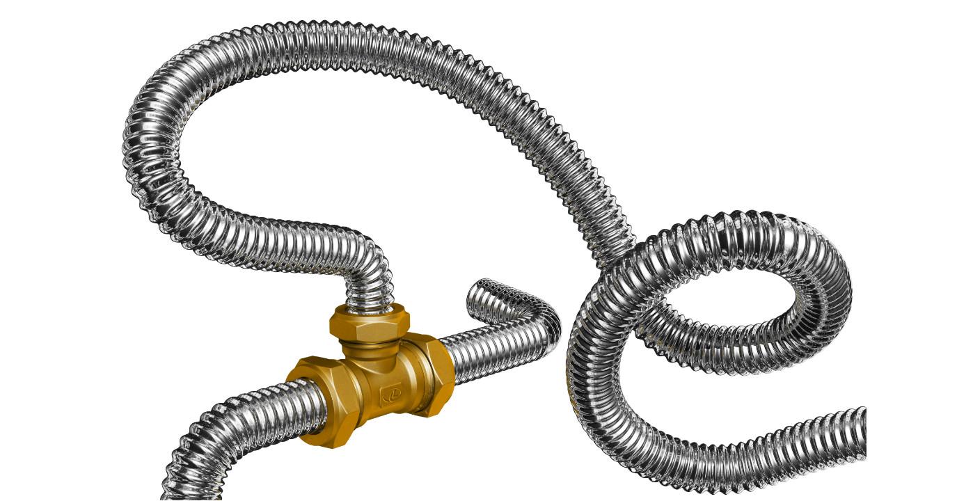 Гофрированная нержавеющая труба особенности применения и монтаж