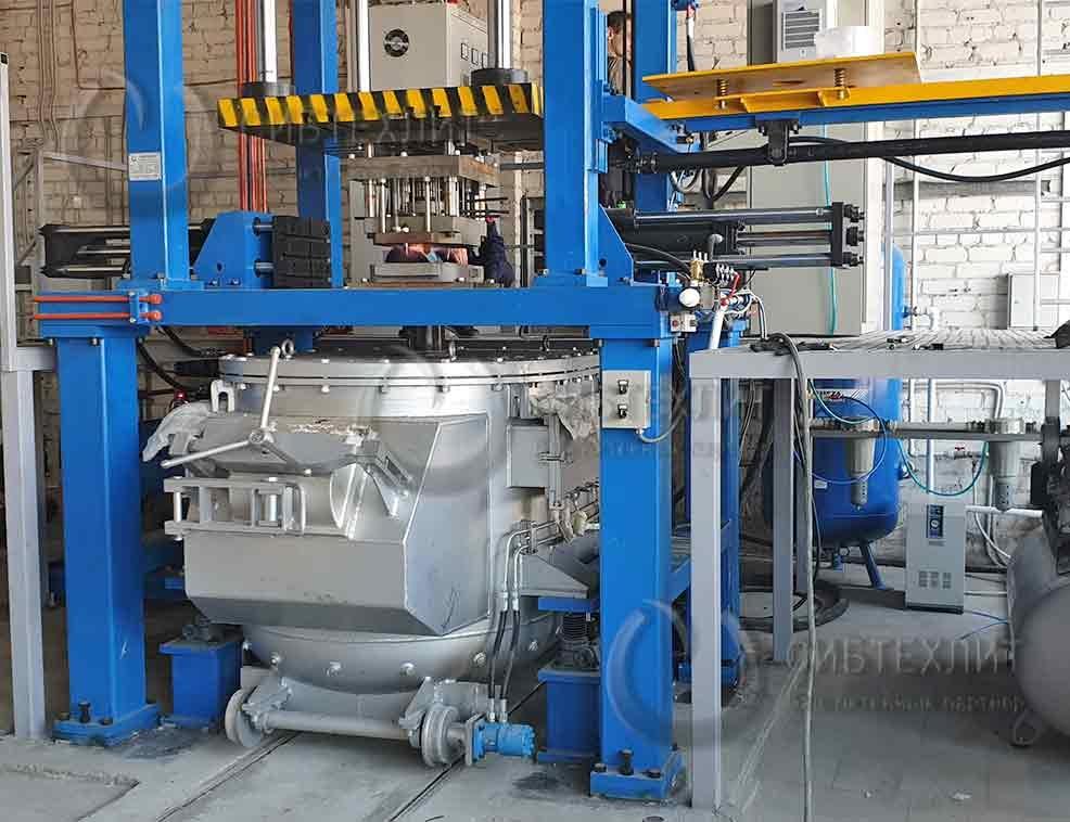 Литье алюминия под давлением: оборудование, машины и производители