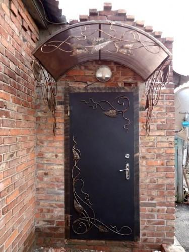 Ворота с калиткой - 110 фото красивого дизайна и советы по выбору материалов
