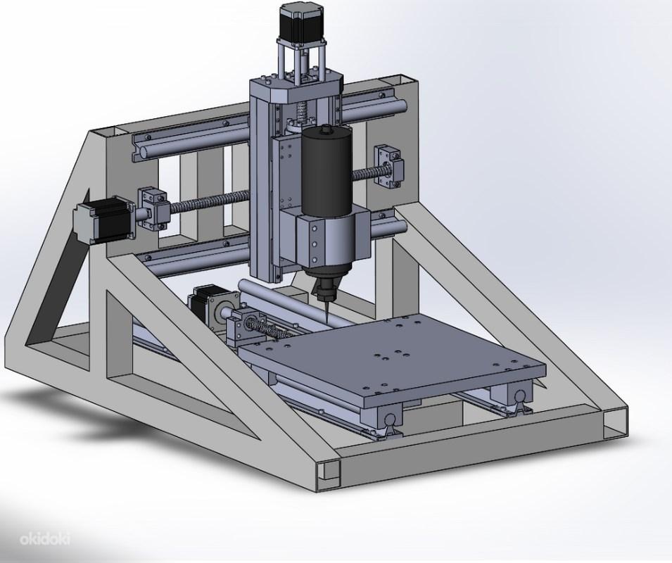 Строим самодельный фрезерный чпу станок