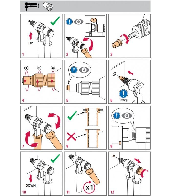Заклёпочник: описание инструмента, принцип работы устройства, правила использования ручного клепальщика