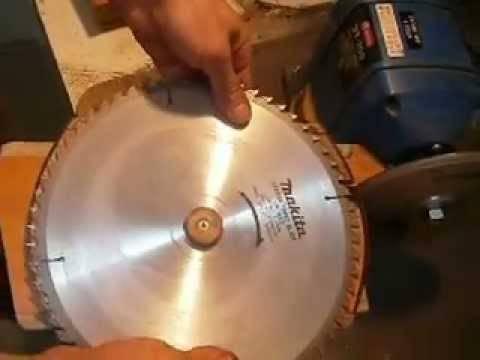 Как правильно заточить дисковую пилу по дереву   все про металл