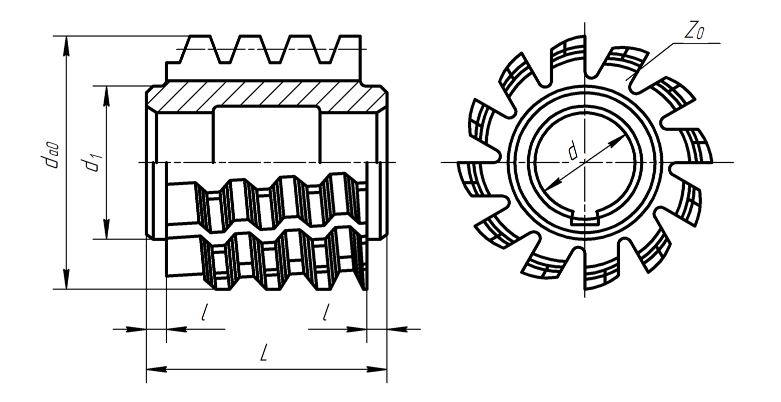 Гост 15127-83 фрезы червячные цельные для нарезания зубьев звездочек к приводным роликовым и втулочным цепям. технические условия