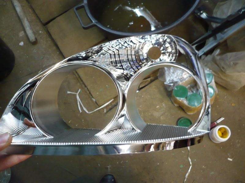 Технология декоративного хромирования химическая металлизация для начинающих
