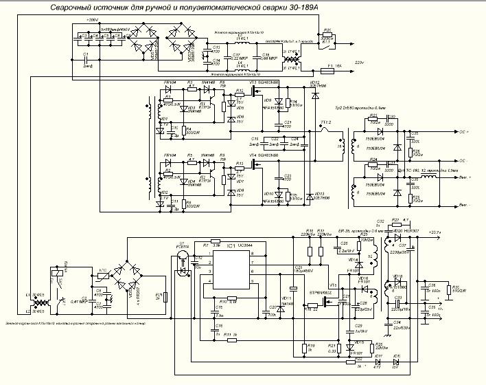 Схема сварочного инвертора. план сварочного инвертора. появление сварочных инверторов. принципиальная и электрическая схемы, принципы их работы.