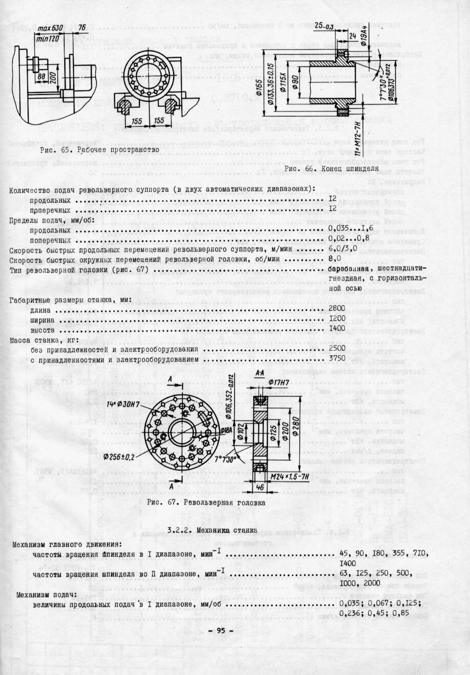 1е61м – высокоточный токарный станок