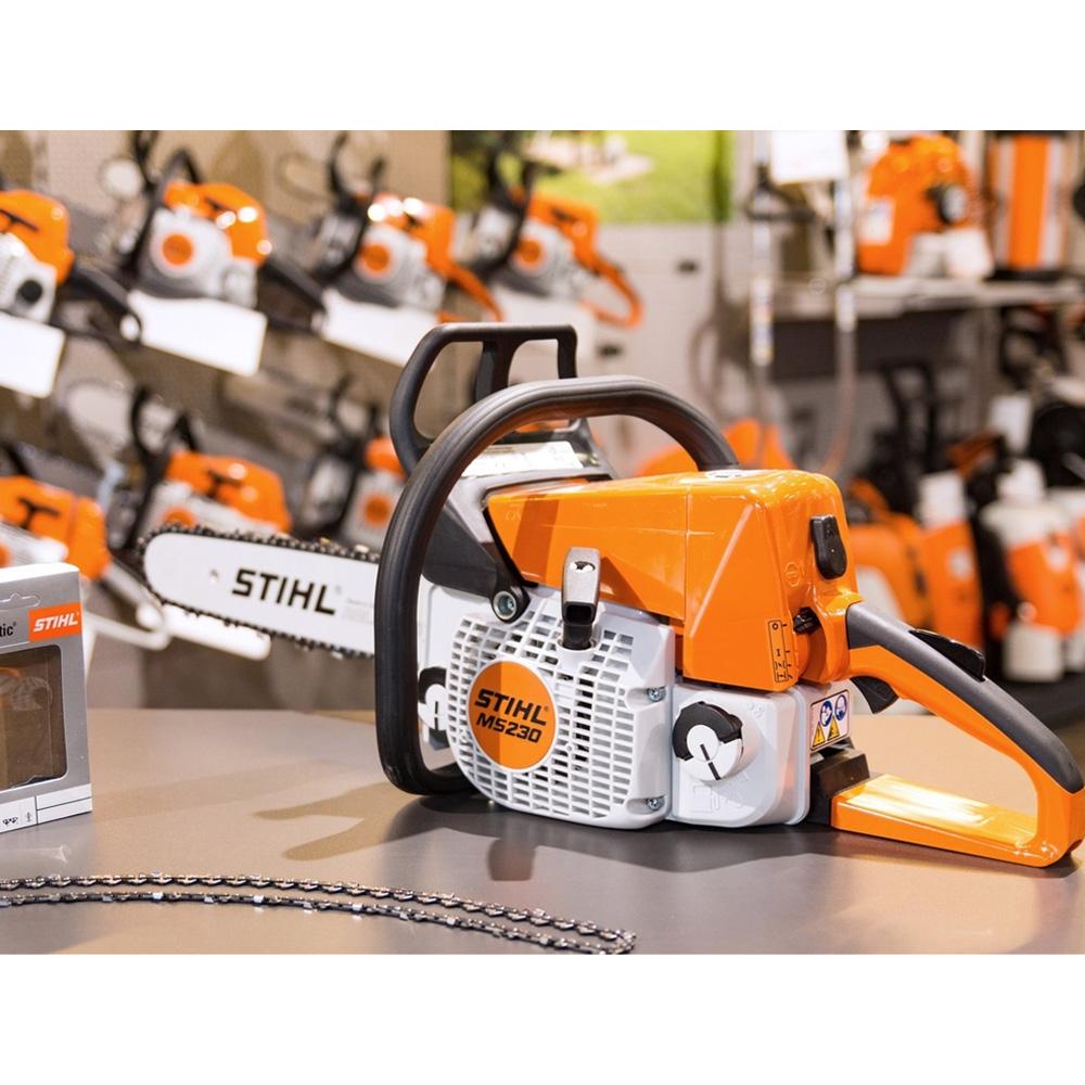 Бензопила «stihl» ms 230: обзор технических характеристик и особенностей