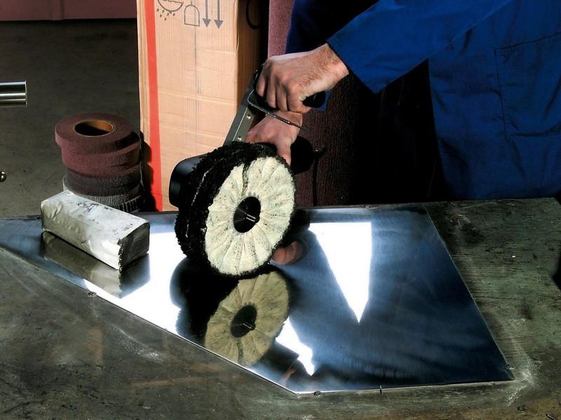 Полировка нержавеющей стали – методы и их отличия + видео