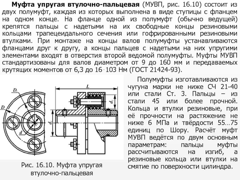 Муфта упругая втулочно-пальцевая (мувп муфта) | кзко